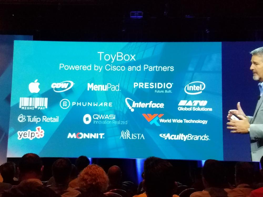 QWASI Cisco ToyBox Experiences Partners