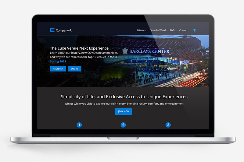 Smart Stadiums - virtual experiences before and during events
